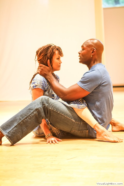 Nicole Ari Parker and Esau Pritchett. Photo by Matt Pilsner.