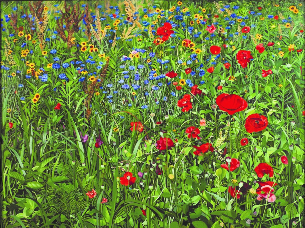 """Spring Mosaic,"" 2010, acrylic on canvas, Dallas Piotrowski Photo credit: Taylor Photography in Princeton, N J."