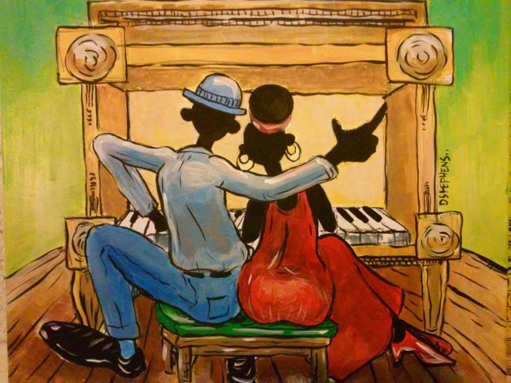 Aint Misbehavin D Stephens - couple at piano
