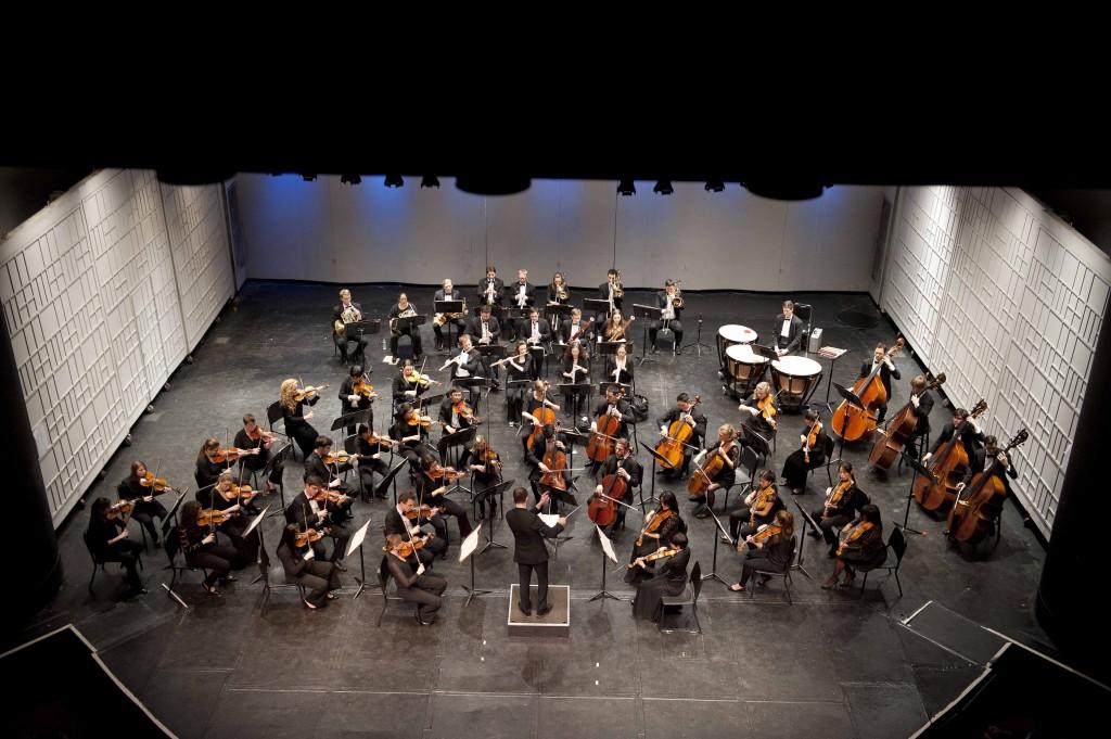 Symphony in C concert catwalk, photo credit Douglas Bovitt