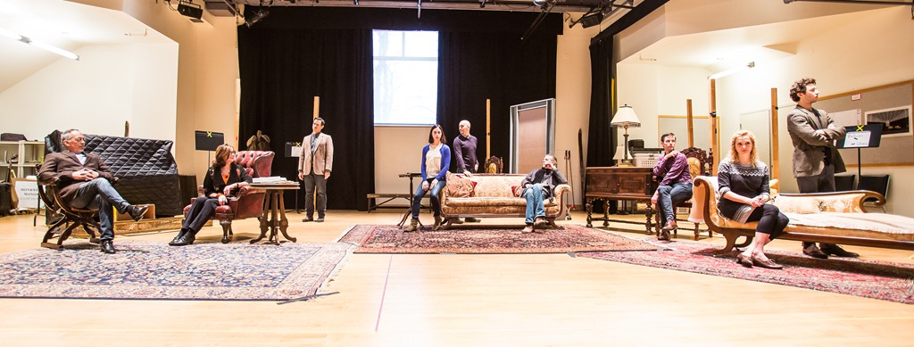 The Company of Agatha Christies – The Mousetrap with Director Adam Immerwahr Center – Photo by Matt Pilsner