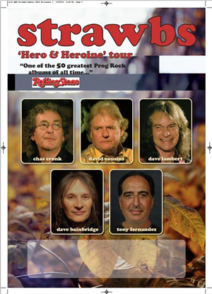 Dave Bainbridge / Chas Cronk / Tony Fernandez (drums) / David Cousins / Dave lambert