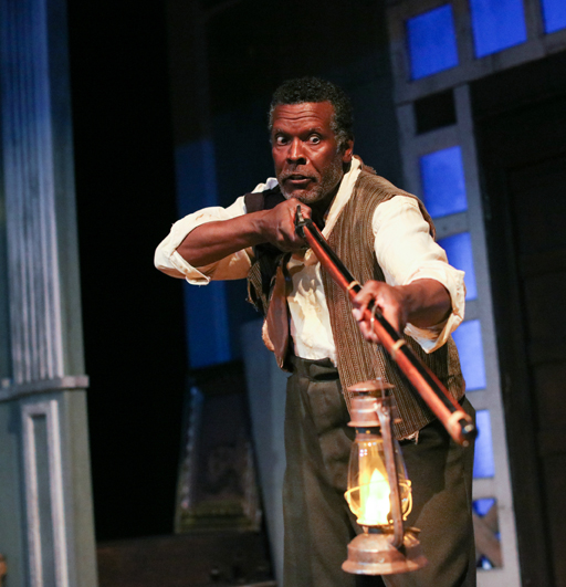 "Jesse N. Holmes as Simon in Cape May Stage's production of ""The Whipping Man"""