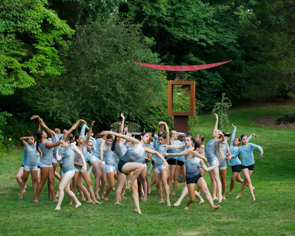 NJDTE dancers in After the Rain. Photo by Maryanne Teng Hogarth