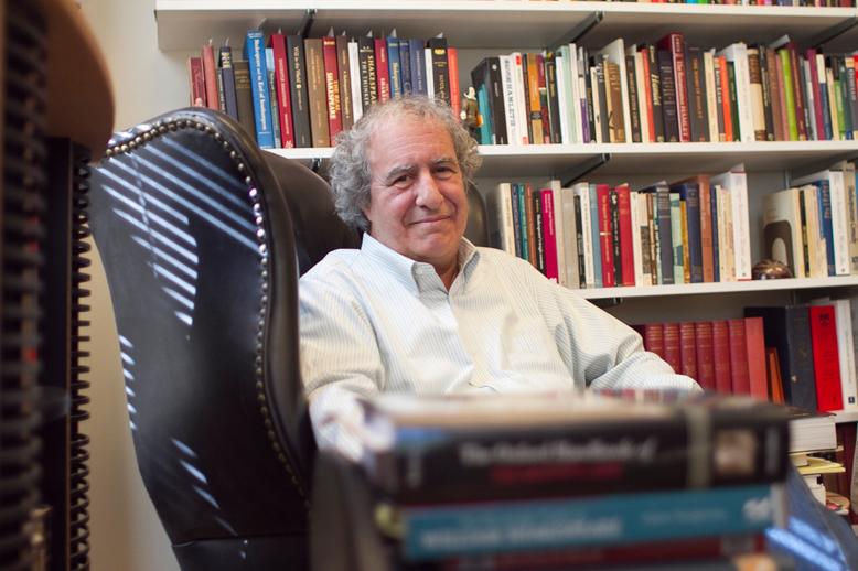 Professor Emeritus Frank Occhiogrosso, a Shakespeare scholar, is a featured speaker. Photo: Drew University/Lynne Delade