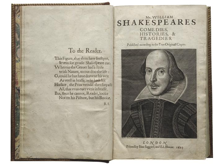 Photo: Folger Shakespeare Library