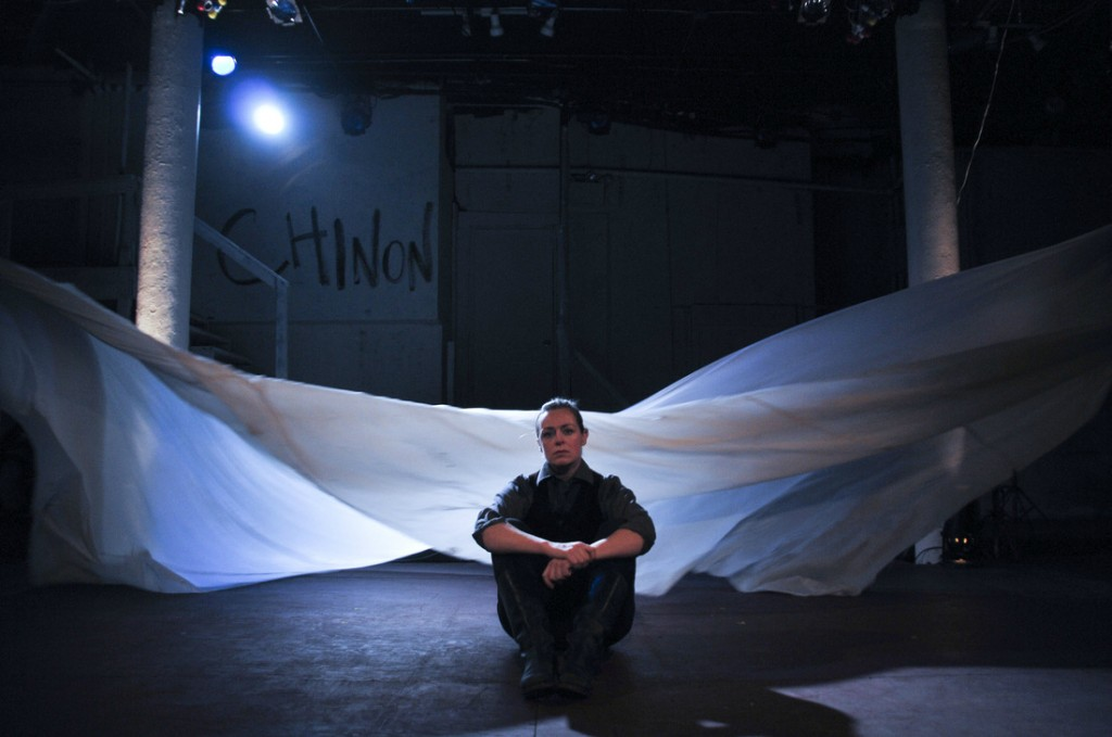 Andrus Nichols in Saint Joan. Photo by Jenny Anderson
