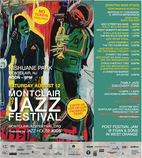Montclair Jazz Festival poster
