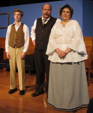 cast members of East Lynne Theater Company's 'Ah, Wilderness!'