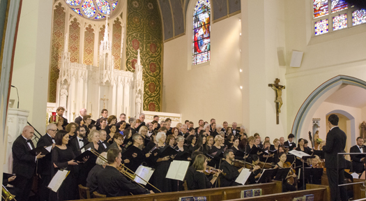 Vespers Fusion Performance at Our Lady Star of the Sea in Long Branch