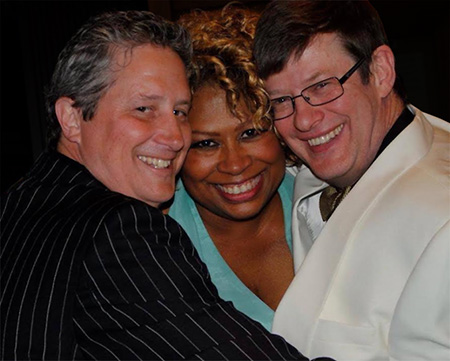 New Brunswick Jazz Project founders Michael Tublin, Virginia DeBerry and Jimmy Lenihan