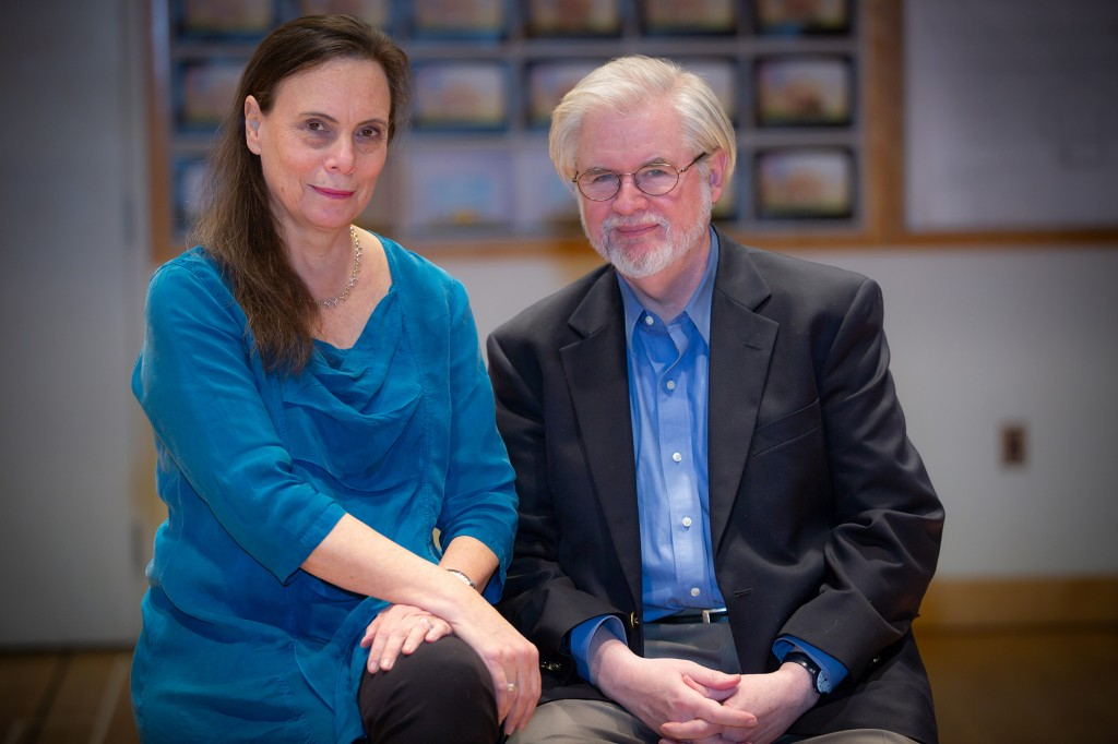 Director Emily Mann and Playwright Christopher Durang. Photo by Matt Pilsner