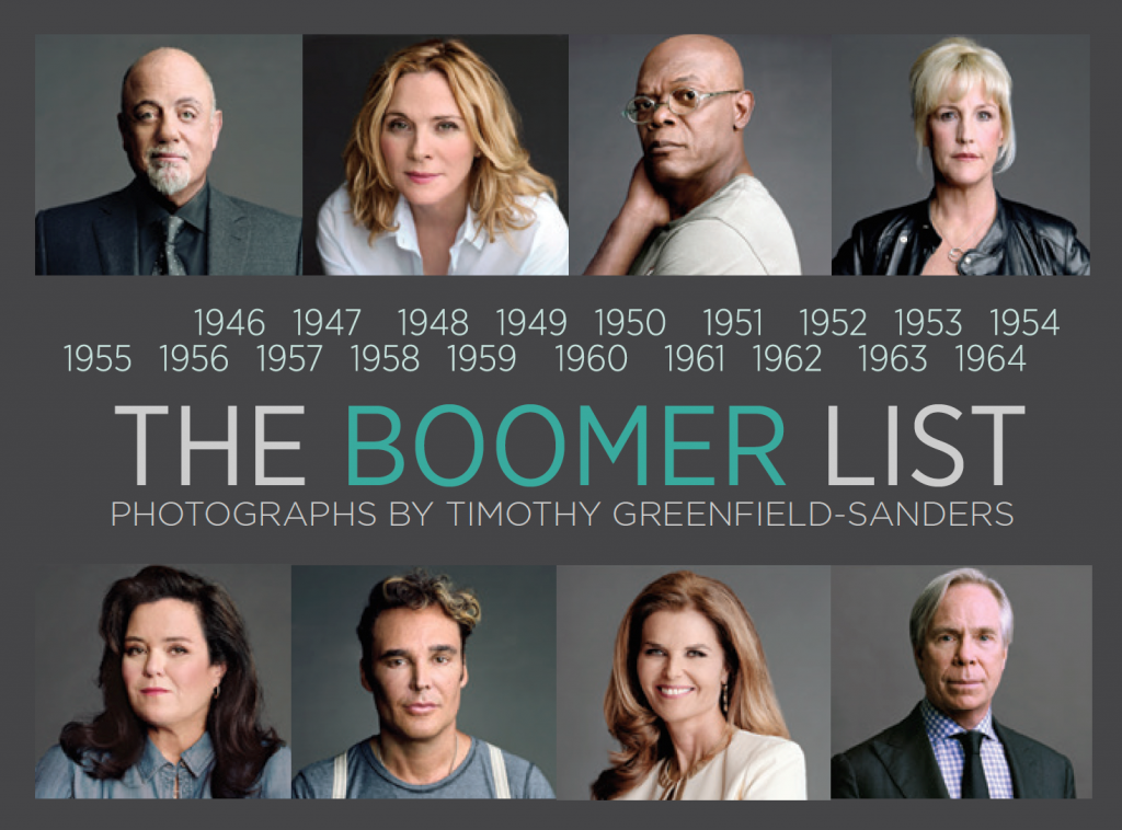 'The Boomer List,' a touring exhibit on loan from the Newseum in Washington, D.C., put on in collaboration with AARP