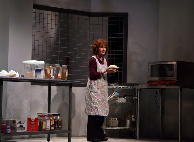 Colleen Smith Wallnau in 'Apples in Winter' at Centenary Stage. Photo by Chris Young