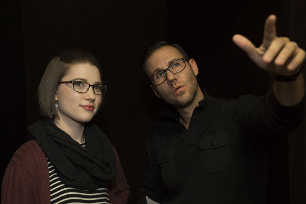 Eagle Theatre's Ted Wioncek and Caitlin Geisser alt=