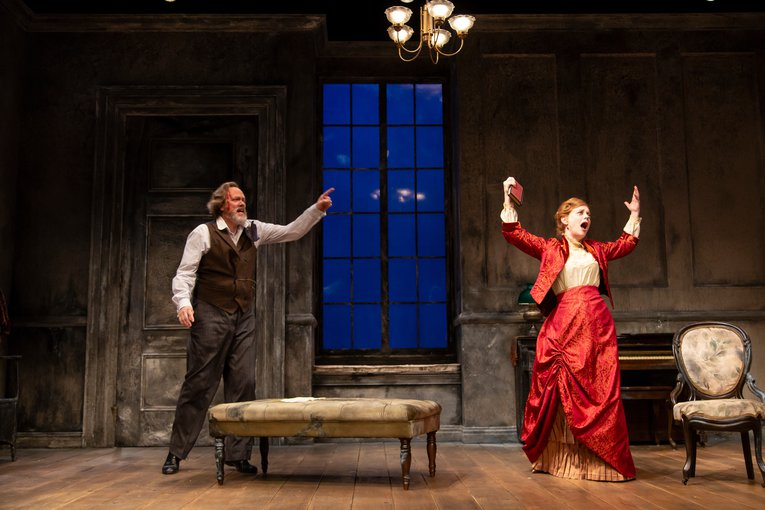 'A Doll's House' at George Street Playhouse. Photo by T. Charles Erickson