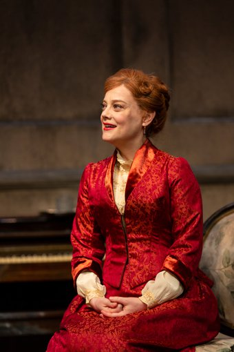 Kellie Overbey plays Nora in 'A Doll's House' at George Street Playhouse. Photo by T. Charles Erickson