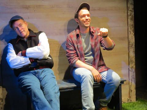 Christopher M. Smith and Richard Kent Green in 'Apple Season' at NJRep