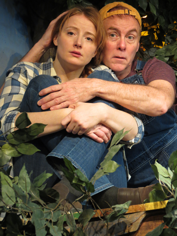 Kersti Bryan and Richard Kent Green in 'Apple Season' at NJRep
