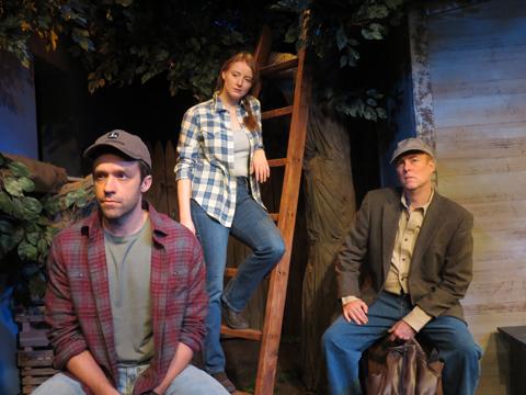 Christopher M. Smith, Kersti Bryan and Richard Kent Green in 'Apple Season' at NJRep