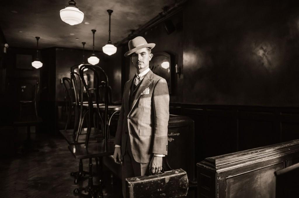 Portrait of Mike Davis by Jane Kratochvil