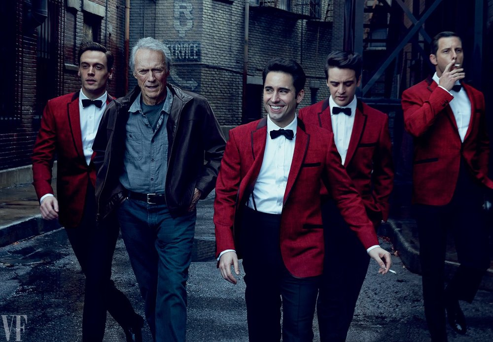 """Jersey Boys"" movie. Photo by Annie Leibovitz."