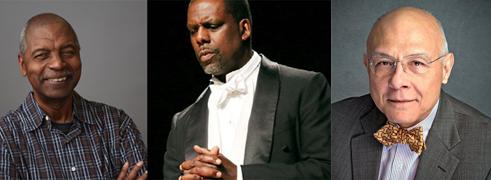 Richard Wesley, Kevin Maynor and Reverend Moses William Howard, Jr.