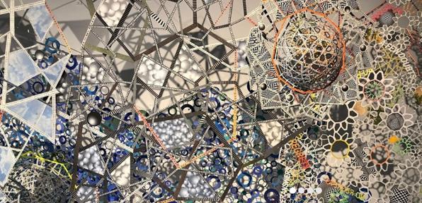Nancy Baker,  Untitled  (detail), 2019, Cut Paper, Courtesy of the artist.