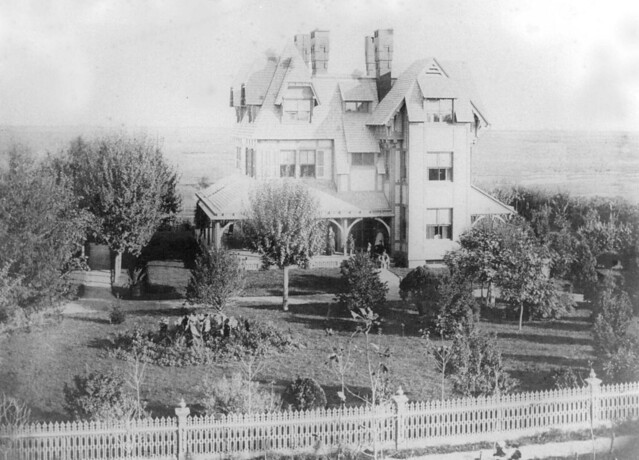 Emlen Physick Estate in 1879. Photo courtesy of the Mid-Atlantic Center for the Arts & Humanities