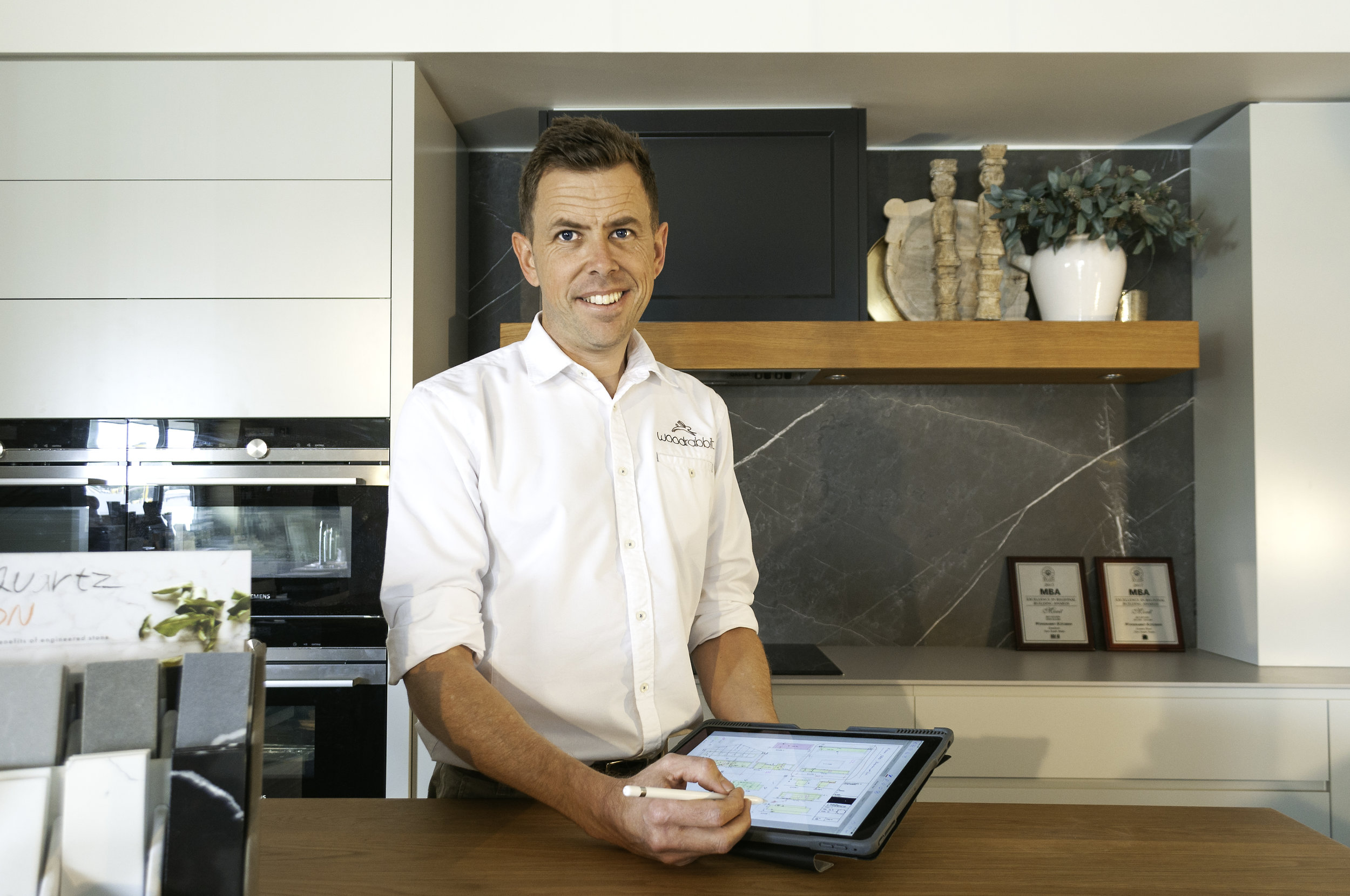 "Meet Brett Adamson, Digital Champion - ""I could never have imagined what digital would do for my business. This approach and the guidance has been invaluable""Brett Adamson.Woodrabbit Kitchens NSW, Australia"