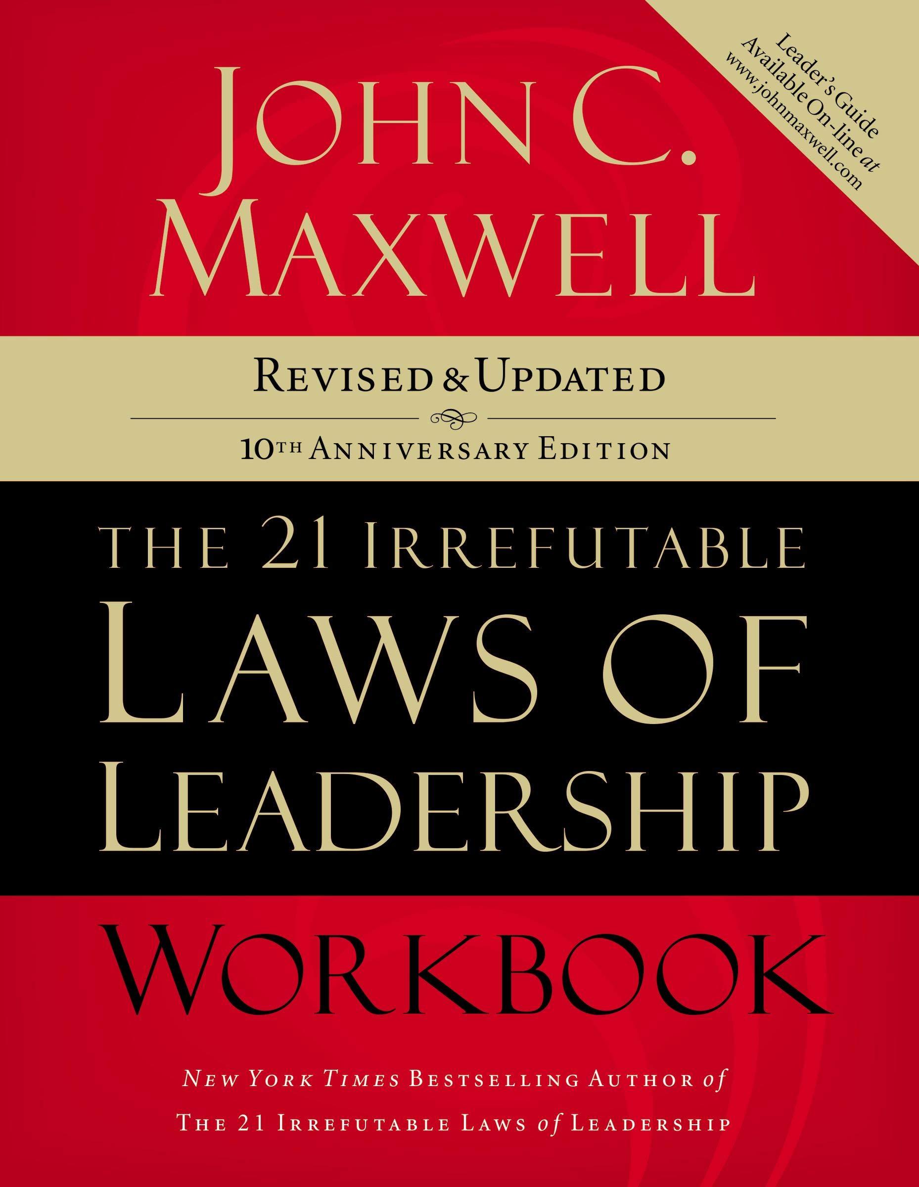 21 IRREFUTABLE LAW OF LEADERSHIP WORKSHEET   BUY 21 IRREFUTABLE LAWS OF LEADERSHIP