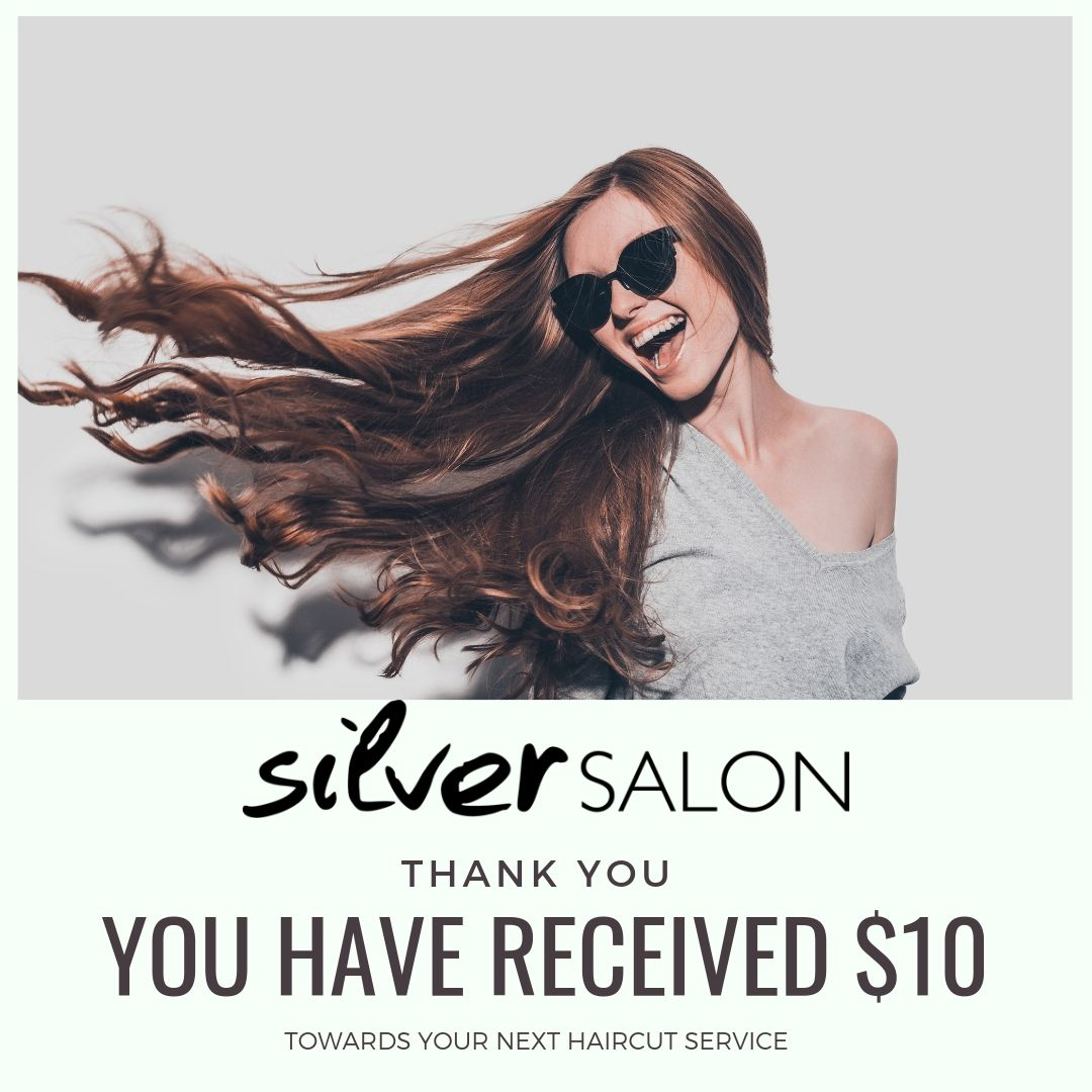 Thank you for following me! Our Salon has so many specials going on each month. Here is one just for YOU as a new guest! I would love to share an amazing guest experience with you, first hand! Use one of these toward your next visit! See you soon!