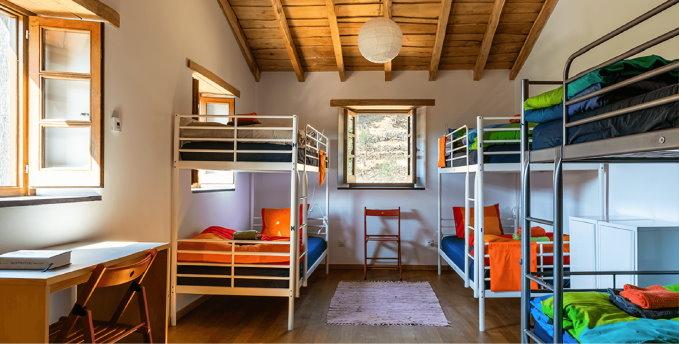 Hostel de Xisto - Quartos
