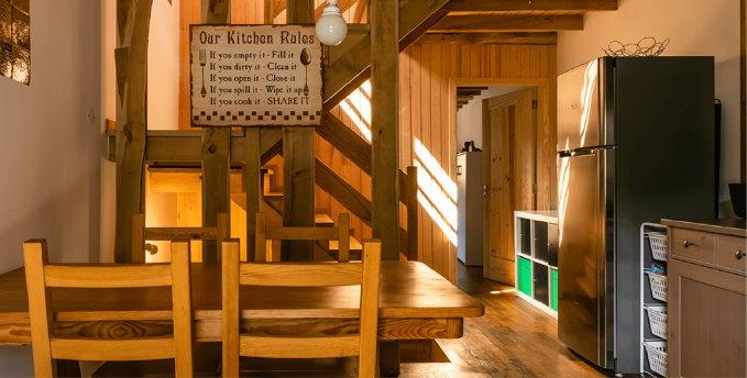 Hostel de Xisto - Cozinha