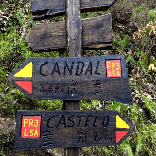 caminhadas candal castelo