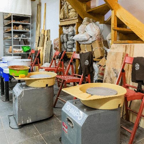 residencias artisticas materiais