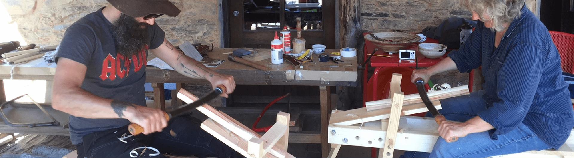 Trabalhar madeira verde workshop