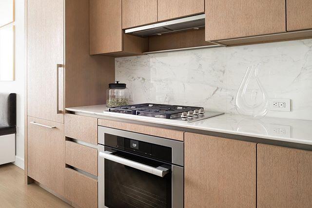 Nice modern range from @miele_com @mieleusa in this Hudson Yards residence.