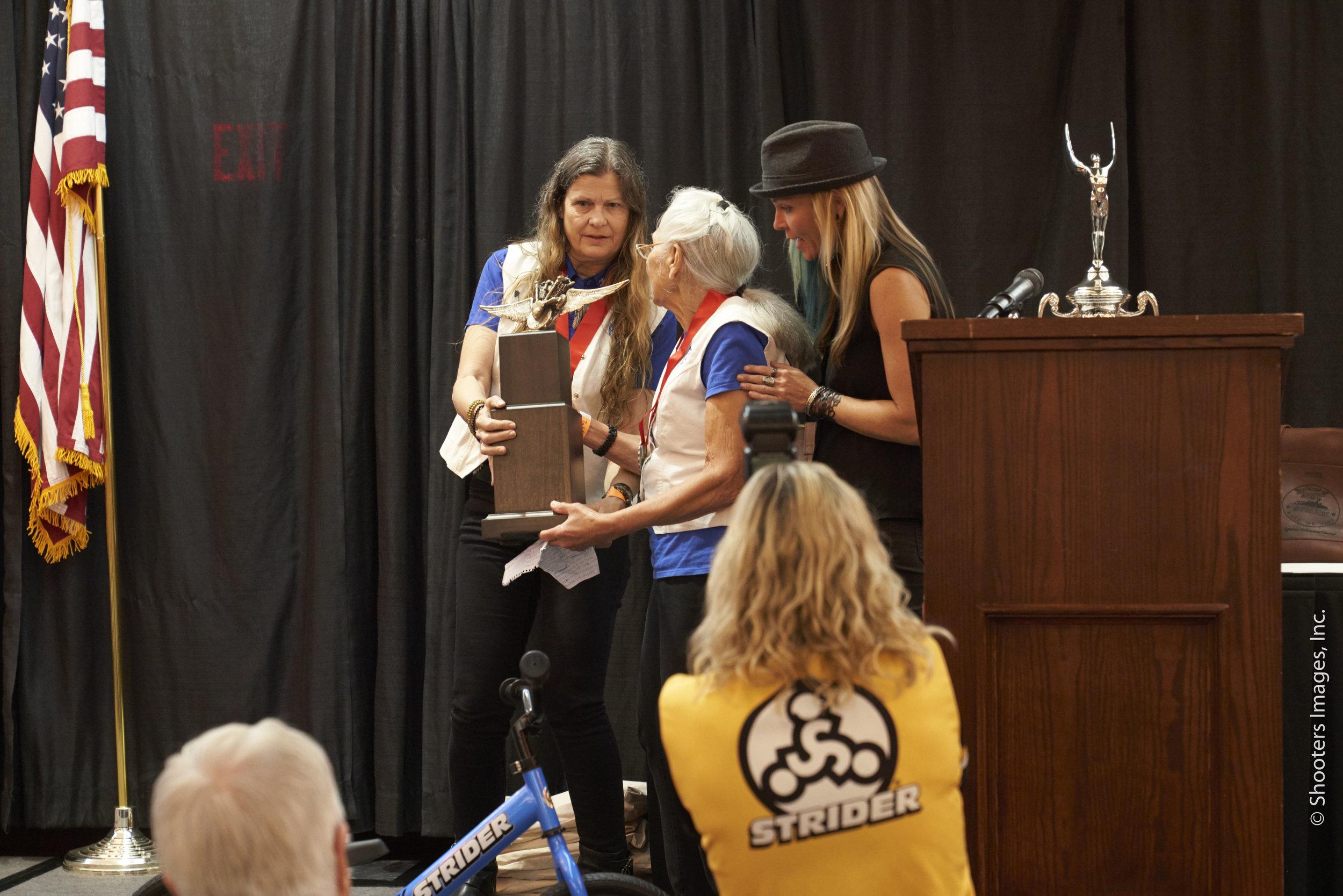 Kris Sommer Simmons, Gloria Struck, & Jessi Combs