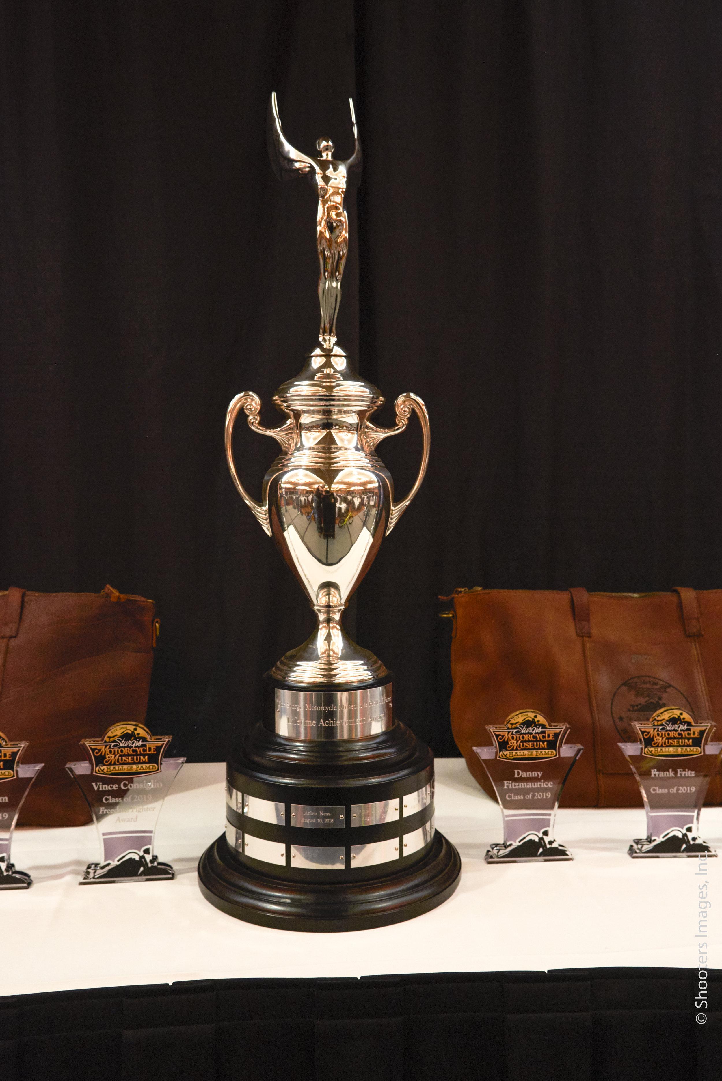 Lifetime Achievement Trophy