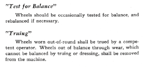 From  A Handbook On Tool Room Grinding , Norton Abrasives, 1947