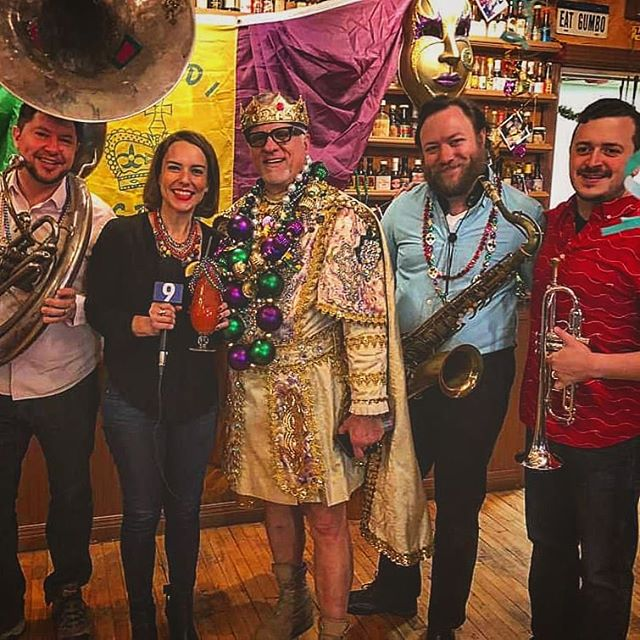 1 more day until Fat Tuesday!!! Come listen to Big Shoulders Brass Band @bsbrass from 6:00pm to whenever on Fat Tuesday ⚜🎶🎺🥃👑🍻🍷💥 We have some late reservations open. Walk ins welcome. Call 312-263-6443 and ask for my niece Alexis ⚜💜💚💛⚜ ⚜ F A T T U E S D A Y ⚜ 💜 💚 💛 ⚜