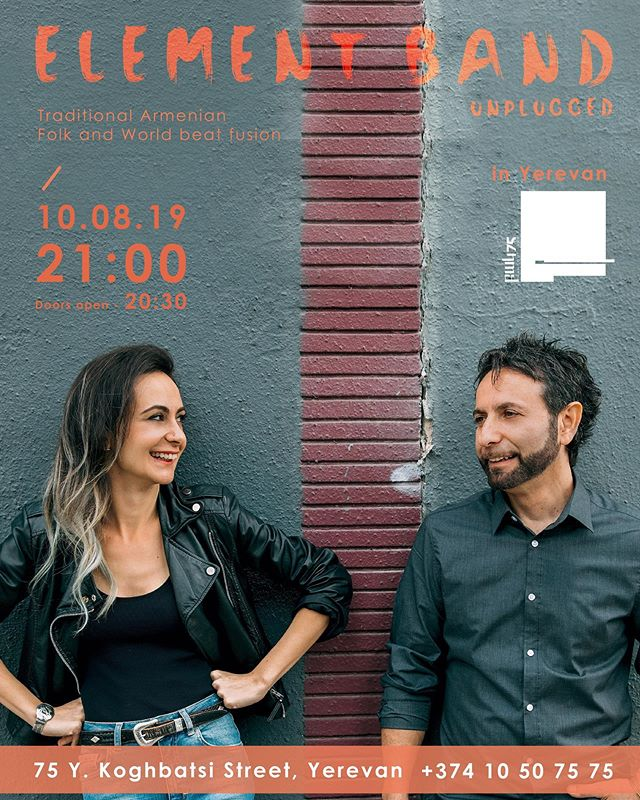 Last night's performance was sold out. If you missed it, come see us tomorrow night. #yerevan #armenianmusic #deemcommunications 🇦🇲