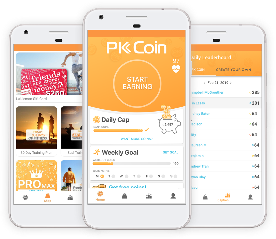 pk coin android