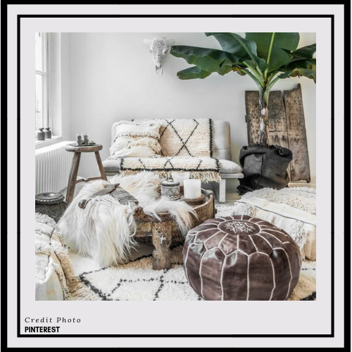 BOHO - Bohemian or Boho decorating is for those who want their homes full of life, culture, and interesting items for all the world to see. This aesthetic flies in the face of modern sensibilities and embraces the carefree, the relaxed, and the unusual.