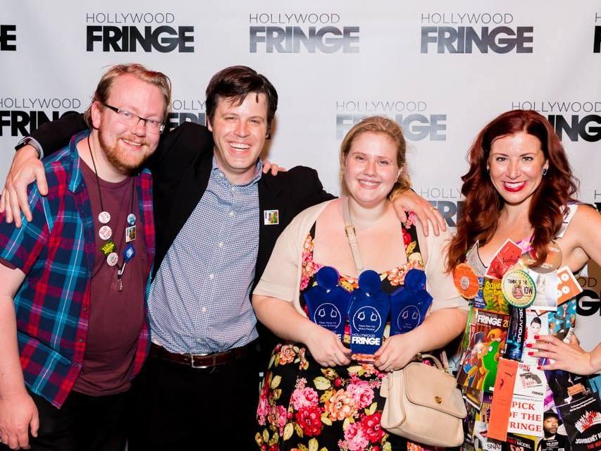 Left to Right: Bobby McGlynn, Ben Hill, Theresa Stroll, and Jessica Lynn Johnson. Photo by Matt Kamimura.