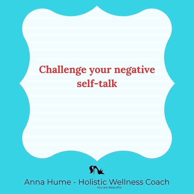 "Negative self talk can destroy your confidence, make you sad and upset, and can even disrupt your personal relationships.  Here are some ways to challenge the negative self-talk:⠀ 1.  When you recognize that your talking negatively to yourself, say ""Stop"" out loud.  Just the simple act of saying the word out loud can bring your focus to what you are telling yourself.⠀ 2.  Close your eyes and take three deep breaths.  This will help you to focus and center yourself.⠀ 3.  Change the negative self talk to positive.  When you think or say something negative to yourself, switch the talk to the positive and repeat it back to yourself several times.⠀ ⠀ ⠀ ⠀ #youarebeautiful #beyoutiful #youarespecial #youareunique #youareworthy #youarewonderwoman #imperfectlyperfect #loveyourself #loveyourselffirst #loveyourselfalways #loveyourselftoday #selflove #selflovewarrior #selfacceptance #selfacceptanceiskey #bodyimage #bodyimageissues #bodypositive"