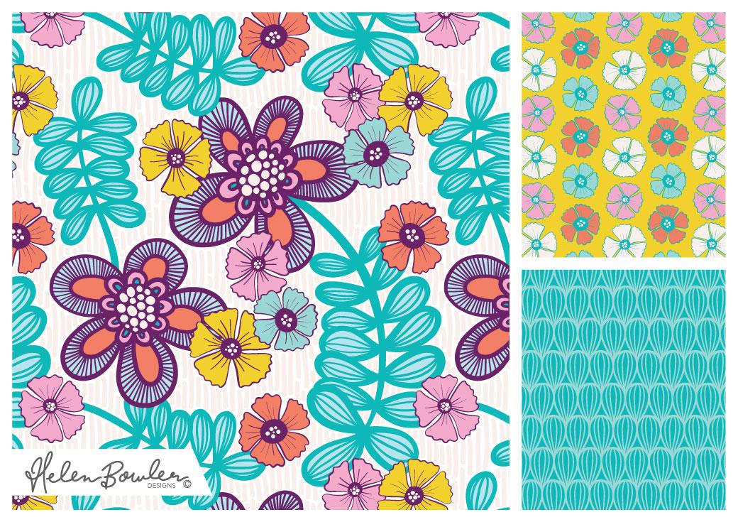 Flowers Sweet by Helen Bowler