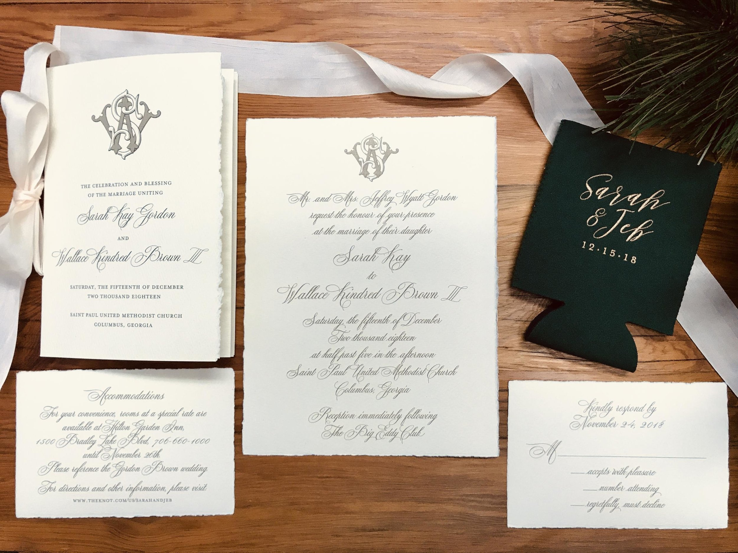 Weddings - INVITATIONS, SAVE THE DATES, AND EXTRAS