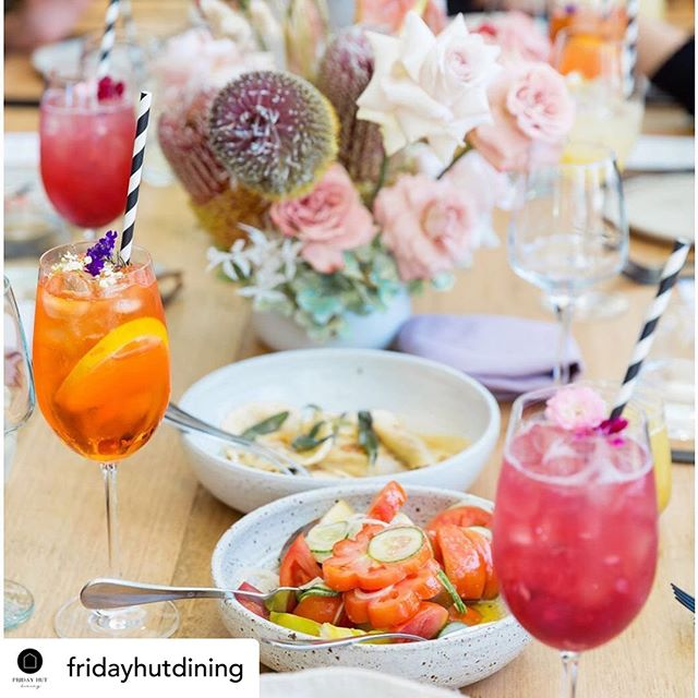 Posted @withrepost • @fridayhutdining  Get in quick for this amazing Mother's Day lunch with the fabulous team @fridayhutdining  Come and celebrate Mother's Day at Friday Hut Dining. We offer an intimate dining experience and a complimentary shuttle service. The perfect way to show you care.  Follow the link in our bio. . . . . Florals @wildernessflowers_ 📷 @milenkoweddings . . . #tastingmenu #winepairing #passion #hinterland #mothersday #appreciation #byronbay #sundaylunch #intimatedining #attentiontodetail #fridayhutdining